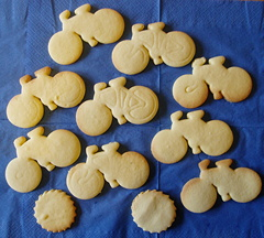bicycle shortbread